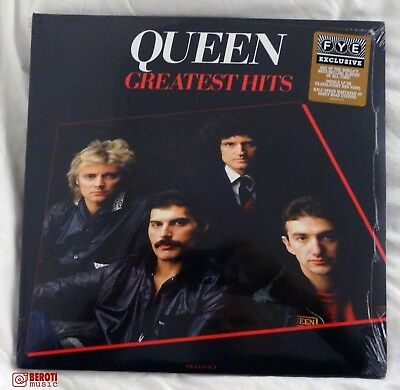 Queen - Greatest Hits - Fye Limited Edition Red Vinyl 2Lp Lp - Sealed Mint M/m