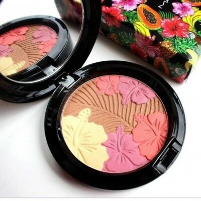 MAC Fruity Juicy Oh My Passion Pearlmatte Face Powder 0.28 oz. Full Size NIB