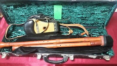 Beautifully Hand Crafted Cornish Bagpipes! by Julian Goodacre