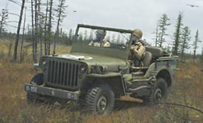 Rubicon Model WWII 28mm Willy MB 1/4 Ton 4x4 Utility Truck (US Standar Box MINT