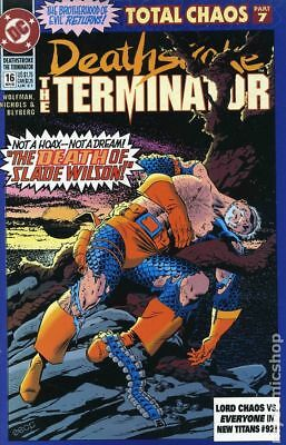 Deathstroke the Terminator #16 1992 VG Stock Image Low Grade