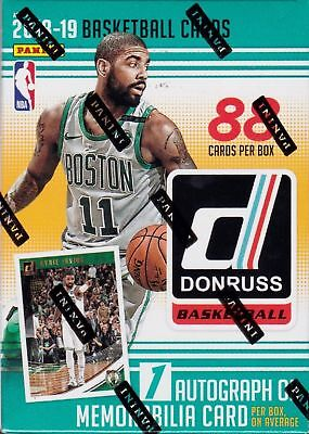 Doncic 2018-19 Panini DONRUSS BASKETBALL AUTO/RELIC/jersey HOT PACK Young?