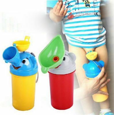 Animal Portable Urinal Toilet Potty Training for Baby Toddler Boy Travel Outdoor