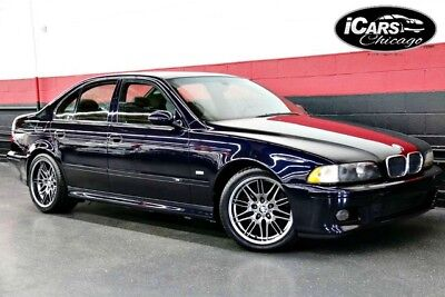 2000 BMW M5  2000 BMW M5 Navigation 2-Owner Only 50,429 Miles Rare Xenon Lights Serviced WoW