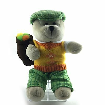 Starbucks Collectible Plush Bear 2006 Stuffed Teddy 10 InchesTall