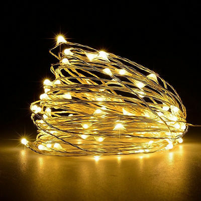 USB 5M 50 LED/10M/100 LED Copper Wire Fairy String light Indoor Outdoor Decor