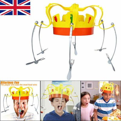 UK STOCK Chow Crown Game Family Fun Musical Food Challenge Toy Christmas Gift