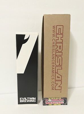 "Evil Twin Brewing Company Denmark Beer Tap Handle 9.25"" Tall - Brand New In Box!"