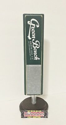 """Green Bench Brewing St. Petersburg Florida Beer Tap Handle 11"""" Tall - Brand New!"""