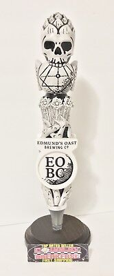 "Edmund's Oast Brewing South Carolina Beer Tap Handle 11.5"" Tall - Excellent RARE"