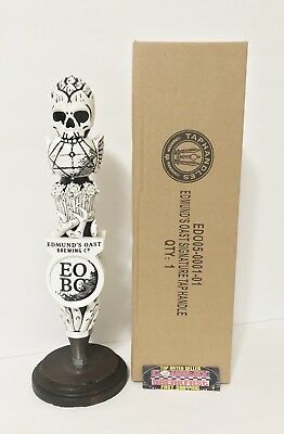"Edmund's Oast Brewing South Carolina Beer Tap Handle 11.5"" Tall Brand New In Box"