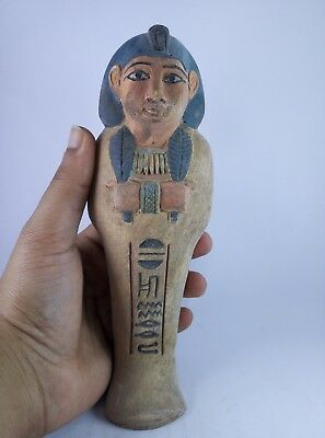 RARE ANCIENT EGYPTIAN ANTIQUE USHABTI (Shabti) 1751-1564 BC