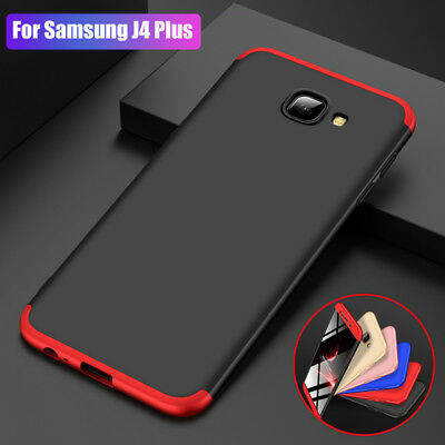 360° Full Protective Armor Hard Case Cover For Samsung Galaxy J4 J6 Plus J8 2018