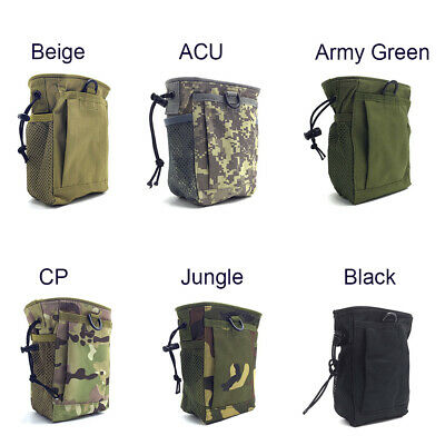 Camo Finds Pouch Metal Detector Accessory Portable Treasure Holder Waist Bag