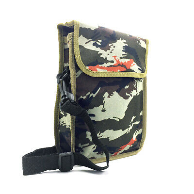Metal Detector Camo Finds Pouch Bag W/ Strap Belt Outdoor Tool Waist Bag Holder