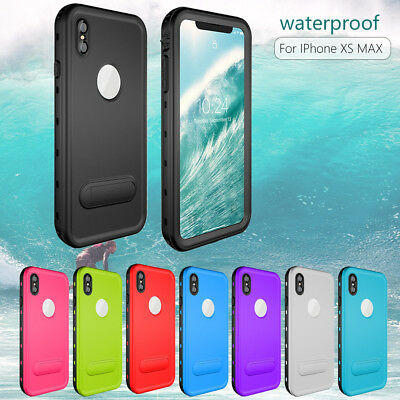 100% Waterproof Case Underwater Diving Cover & Stand For Apple iPhone XS Max