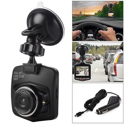 Dash Cam 2.4'' 1080P Full HD Car DVR Video Recorder Night Vision G Sensor Black