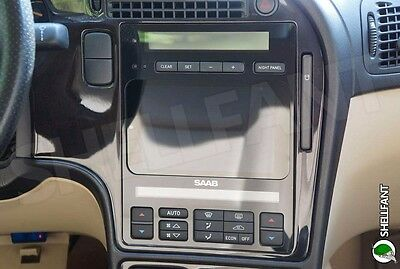 Saab 9-5 Tablet or 2DIN Stereo Face Plate