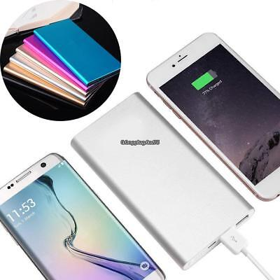 Ultra-thin 20000mAh Portable USB External Battery Charger Power Bank for Phone