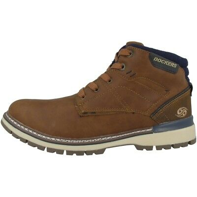 separation shoes 8c315 a5729 DOCKERS BY GERLI 43AD001 Schuhe Herren Boots Stiefelette Schnürer  43AD001-650470