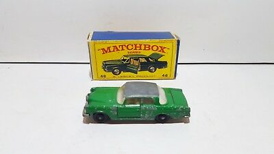 Matchbox Regular 1-75 RW 46 Mercedes 300SE Coupe used condition in repro box