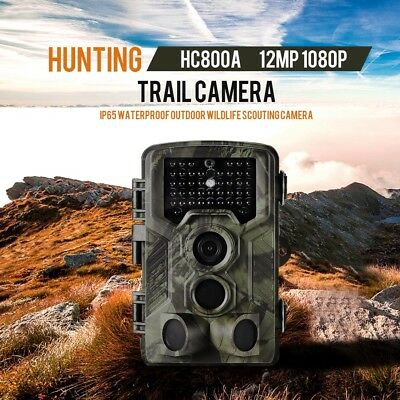 Lixada 16MP 1080P 2G MMS SMS Trail Camera Hunting Camera WildlifeWaterproof V0G5