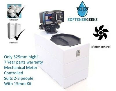 Softenergeeks Nano Water Softener Mechanical Meter Control with 15mm kit