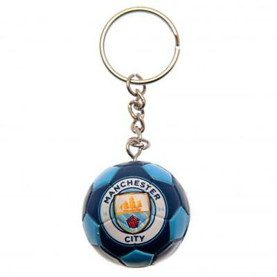 Manchester City F.C. Football Keyring Official Merchandise