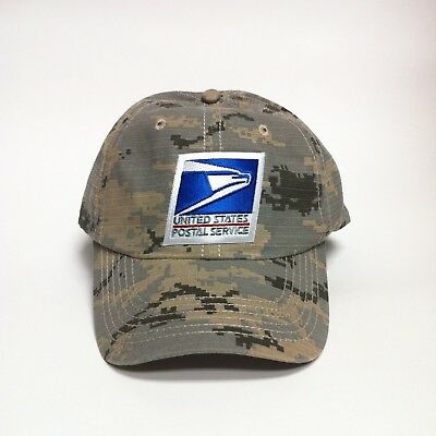 43330f51589 USPS Patch Dad Hat Cotton Cap United States Postal Service Memorial Day Camo
