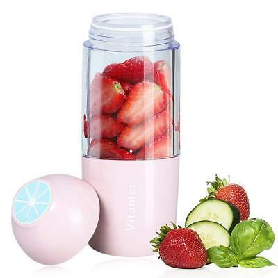 350ml. Personal Size Rechargeable Smoothies Blender Fruit Mixing Juicer Cup