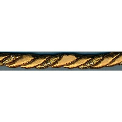 "Simplicity Metallic Twisted Cord 5/16""x12yd-gold"