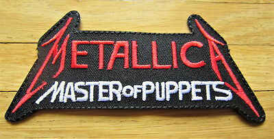 Aufnäher / Aufbügler/ Patch: METALLICA - Master of Puppets  - Rar!