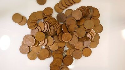 1909-1958 P D S PLUS 1 1943 Steel Unsearched U.S. Wheat Cent Rolls 50 Coins!