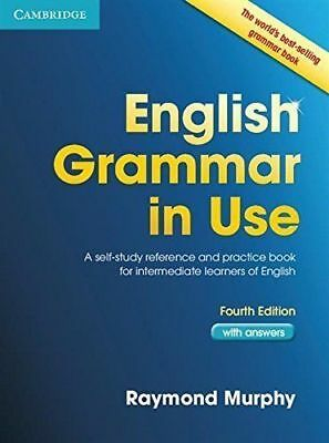 English Grammar in Use Book with Answers: A by Raymond Murphy New Paperback Book