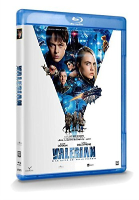 Valerian E La Citta` Dei Mille Pianeti (UK IMPORT) BLU-RAY NEW