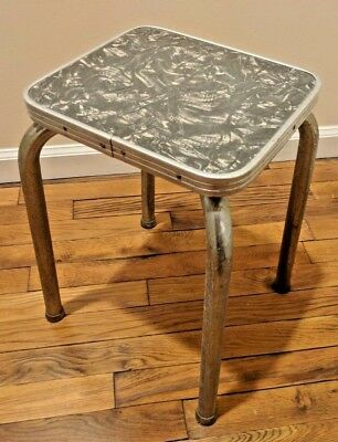 Vintage Formica Victor Products Corp Laundrynet Table Stepstool