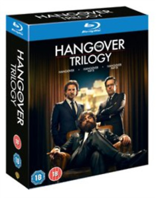 Bradley Cooper, Heather Graham-Hangover Trilogy (UK IMPORT) Blu-ray NEW