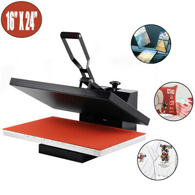 16x24 Digital LCD Clamshell Heat Press Transfer Sublimation Machine for T-Shirt
