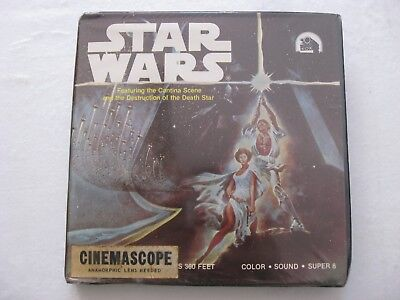 Super 8 Star Wars / La Guerra de las Galaxias Sonido Color 360ft