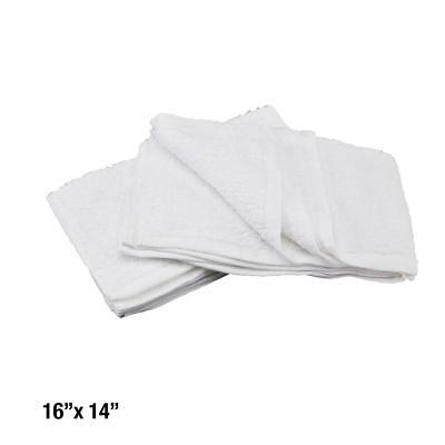 6 Cotton Terry Cloth Cleaning Bar Towels Shop Rags 16X14