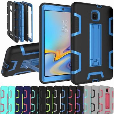 "NEW For SAMSUNG GALAXY Tab A 8"" 8.0"" 2017 2018 Model Heavy Duty Armor Case Cover"