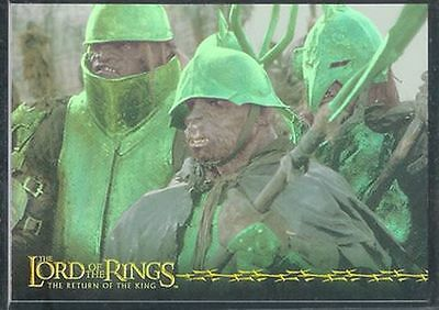 Lotr Rotk Return Of The King Prismatische Foil Karte # 5/10