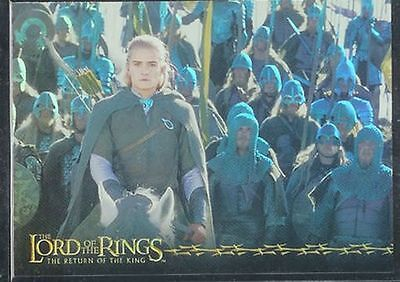 Lotr Rotk Return Of The King Prismatische Foil Karte # 6/10