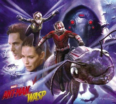 Marvel's Ant-Man and the Wasp: the Art of the Movie (2018, Hardcover)