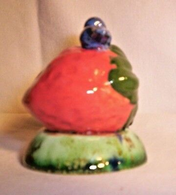 Nature F259 50.33 Ceramic Strawberry 'n Blue Bird Pie Bird