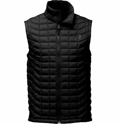 THE NORTH FACE Men's Thermoball Insulated Puffer Vest Black sz S M L XL XXL