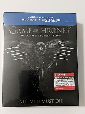 Game of Thrones: The Complete Fourth Season, Blu-ray | Target Exclusive - Sealed