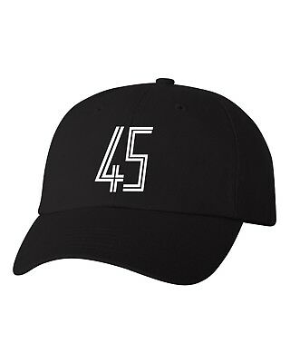bd2fc0ab Jordan 45 Unstructured Dad Hat Custom Cap To Match Jordan 11 Xi Concord -  Black