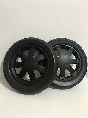 Quinny Buzz Extra Baxk AIRLESS Wheels/tyres X 2/immaculate Collection