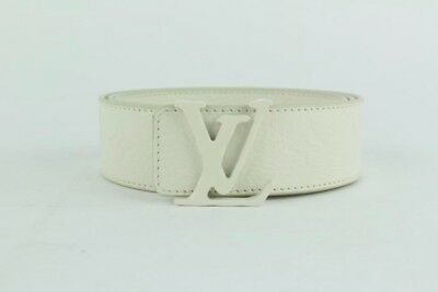 c7a629ee1088 LOUIS VUITTON X Virgil Abloh SS19 SIGNATURE 35MM BELT 110cm 44 inch ...